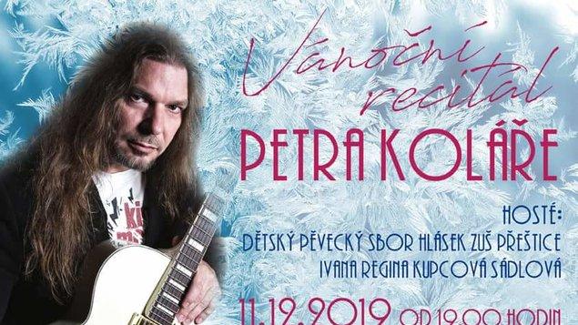 Vánoční recitál Petra Koláře