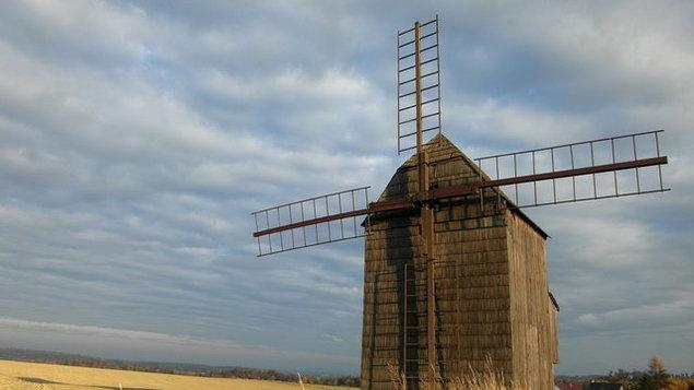 Prohlídka větrného mlýna s průvodcem