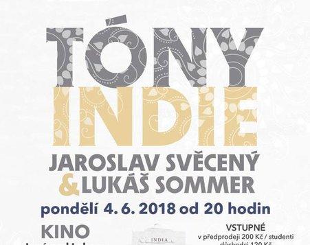 Jaroslav Svěcený & Lukáš Sommer - Tóny Indie