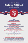 Oslavy 100 let vzniku republiky - neděle 28. října