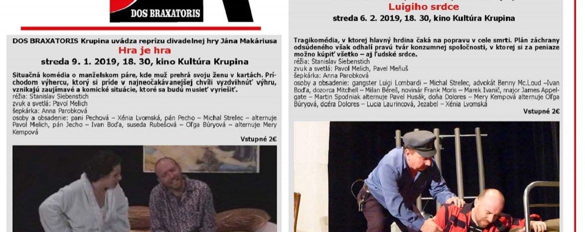 100. rokov slovenského ochotníckeho divadelníctva v Krupine