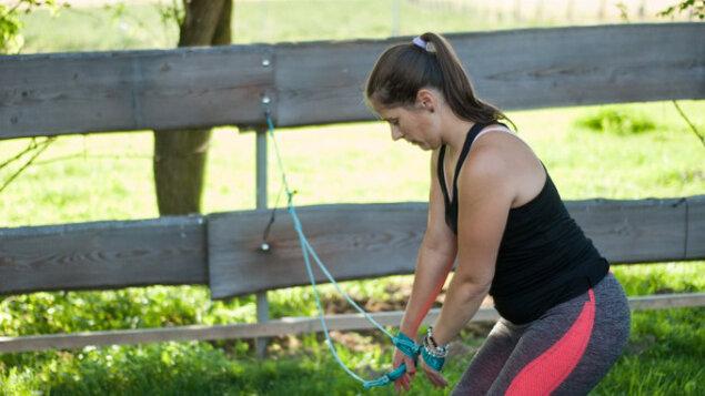 Cvičení pro zdravá záda pomocí SM systému