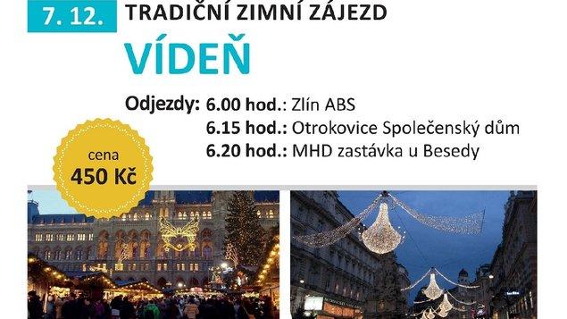 Vídeň 7.12. 2019 * zájezd je obsazen
