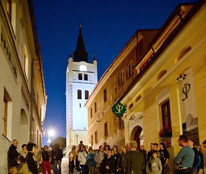 Noční komentovaná prohlídka Vimperka – staré město