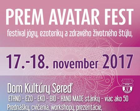 Prem Avatar Fest jeseň 2017