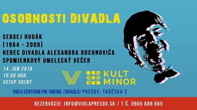 Osobnosti divadla - Sergej Hudák