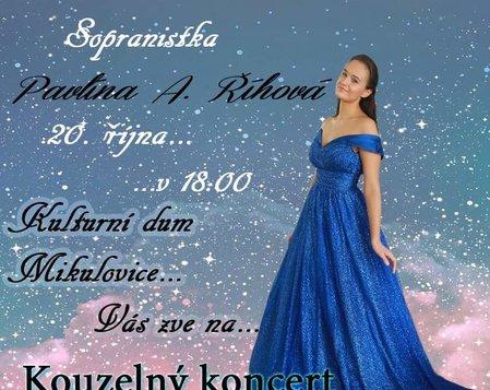 Sólový koncert sopranistky Pavlíny A. Říhové