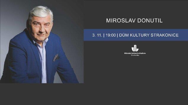 MIROSLAV DONUTIL  - Na kus řeči - 3.11.2021
