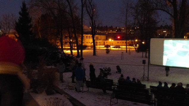 Silvestrovské zimní kino pro všechny