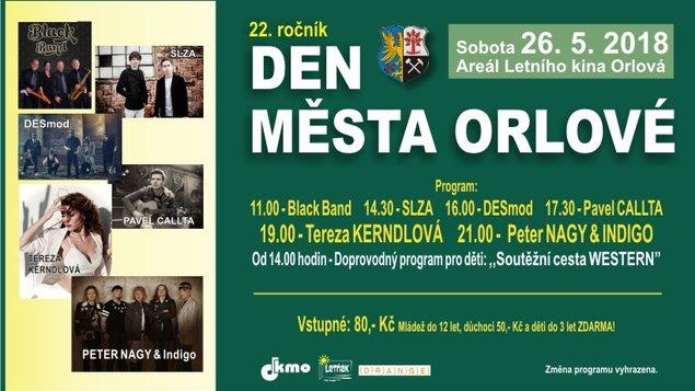 Den města Orlové 2018