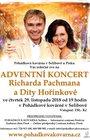 Adventní koncert Richarda Pachmana a Dity Hořínkové