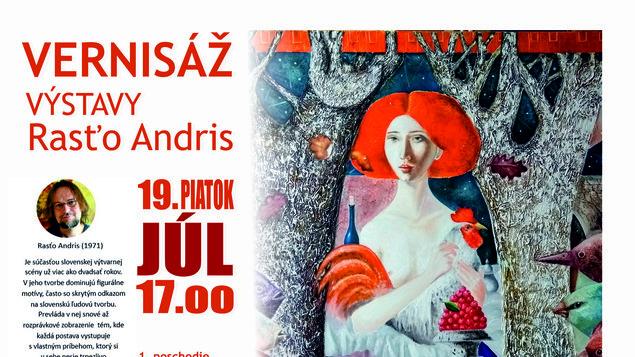 VÝSTAVA - Rasťo Andris