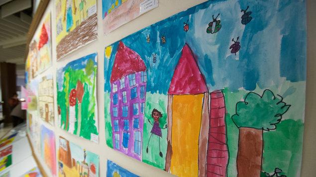 Moje školka ~ výstava