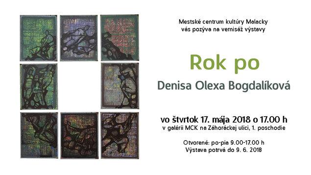 Denisa Olexa Bogdalíková: ROK PO