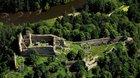 Zlatá Koruna / Třísov / Dívčí Kámen - výlet po významných místech jihočeské historie