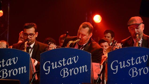 Rozhlasový big band Gustava Broma - hudební večer