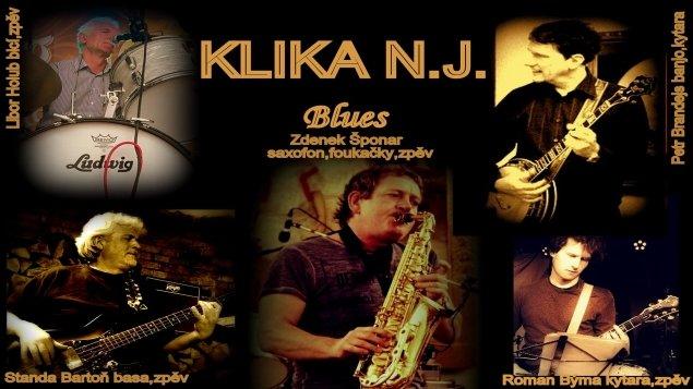 Blues pod hvězdami<br>Klika NJ Blues