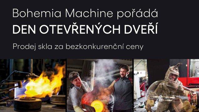Den otevřených dveří Bohemia Machine s. r. o.