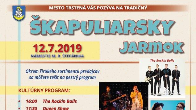 Škapuliarsky jarmok 2019