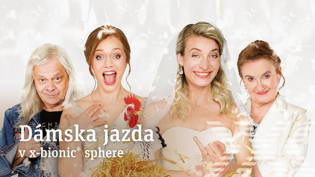DÁMSKA JAZDA - Dve nevesty a jedna svadba (Česká verzia)