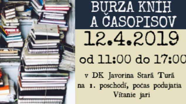 Burza kníh a časopisov 2019