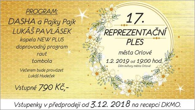 XVII. Reprezentační ples města Orlové