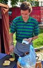 Farmářský trh na grilu