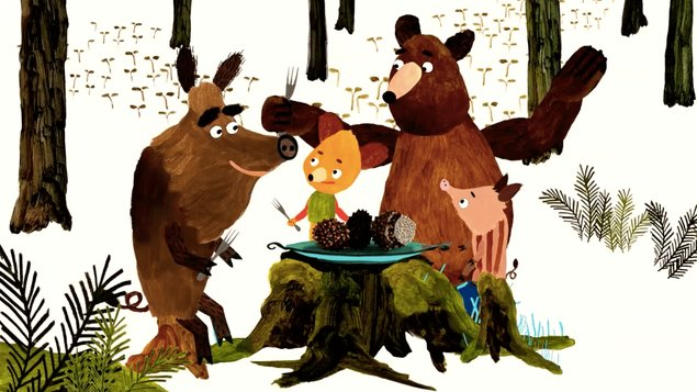 Maškrtné medvedie príbehy (ONLINE Kino doma)
