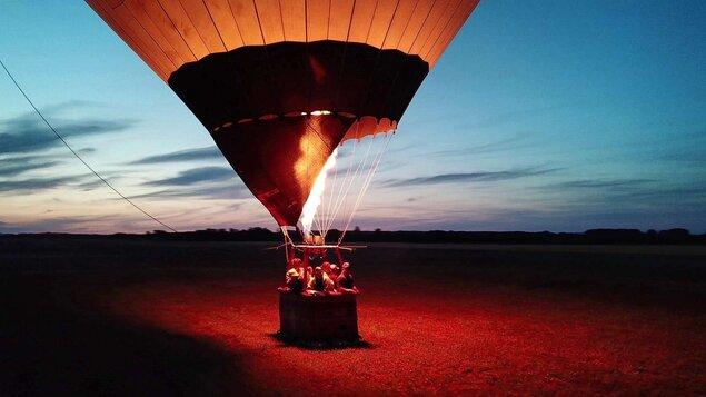 Kotvený let teplovzdušným balónom - PIATOK 27.8.2021