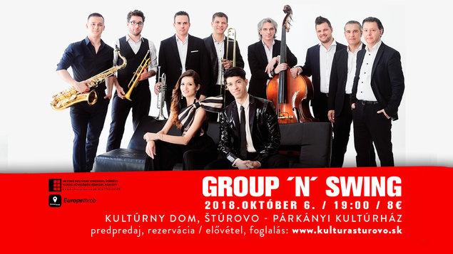 Group ´n ´ Swing koncert, 6.10.2018
