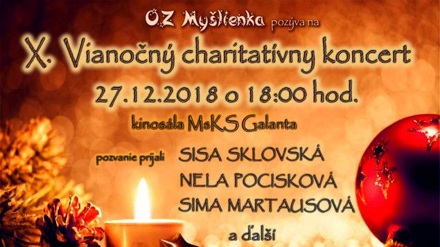 OZ Myšlienka Vianočný charitatívny koncert