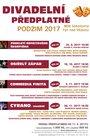 Divadelní předplatné - PODZIM 2017