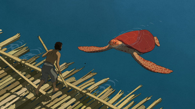 Červená želva (kino za hubičku)