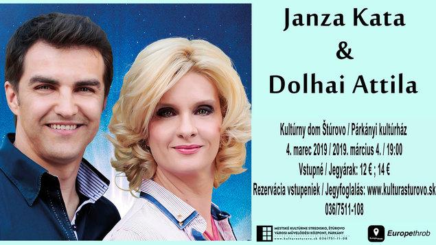Janza Kata és Dolhai Attila koncert, 2019.03.04.