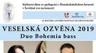 Veselská ozvěna 2019 - Duo Bohemia bass