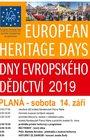 Dny evropského dědictví, sobota 14. 9. od 10:00