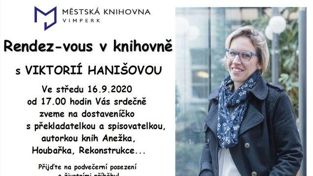Rendez-vous s Viktorií Hanišovou