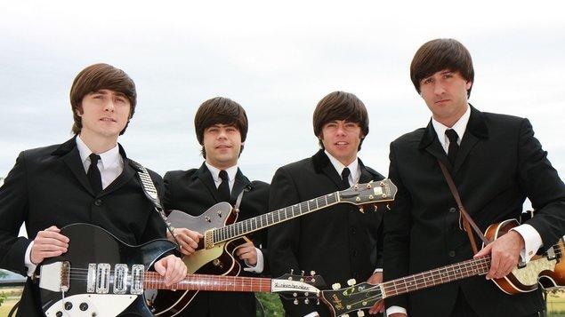 "The BACKWARDS  - Beatles revival ""Love Songs"""