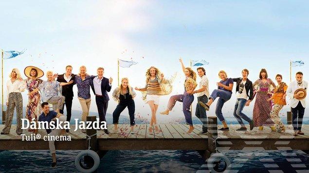 DÁMSKA JAZDA - Mamma Mia: Here We Go Again! (slovenské titulky)