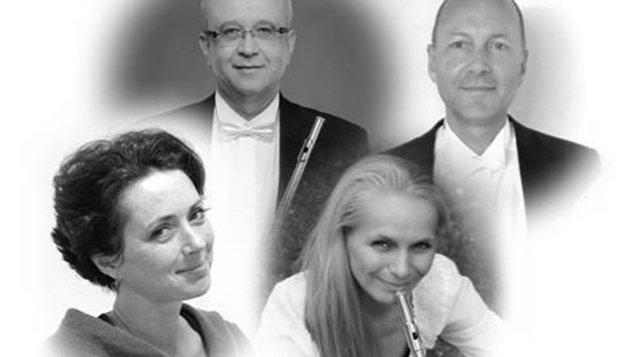 Ladná klasika v písecké Trojici ~ Flute Quartissimo