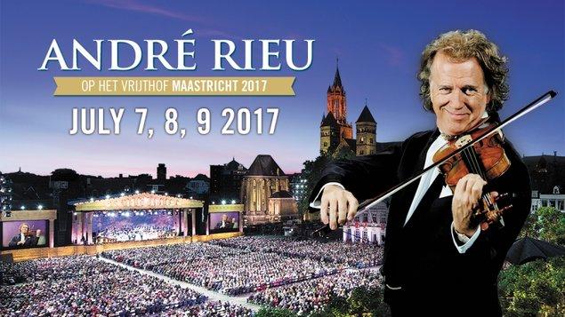 André Rieu - koncert z Maastrichtu 2017