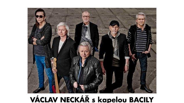 Václav Neckář s kapelou Bacily