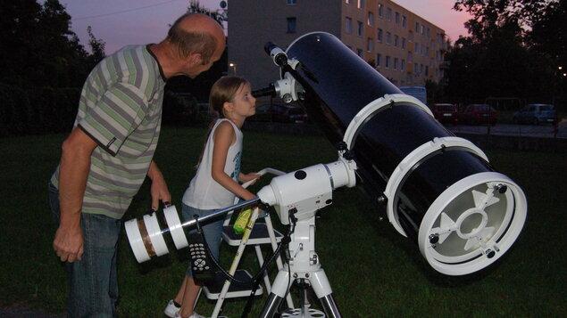 Večer s astronómiou v Šali