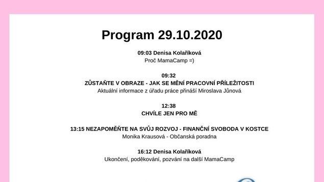 Mama camp - 29.10.2020