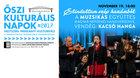 Őszi kulturális napok - Muzsikás együttes, vendég: Kacsó Hanga, 2017.11.19