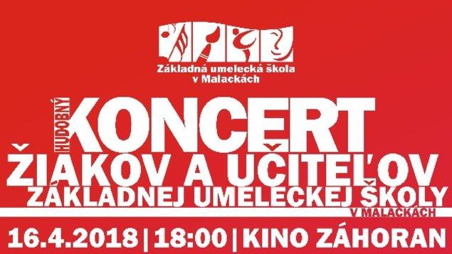 Hudobný koncert žiakov a učiteľov ZUŠ v Malackách