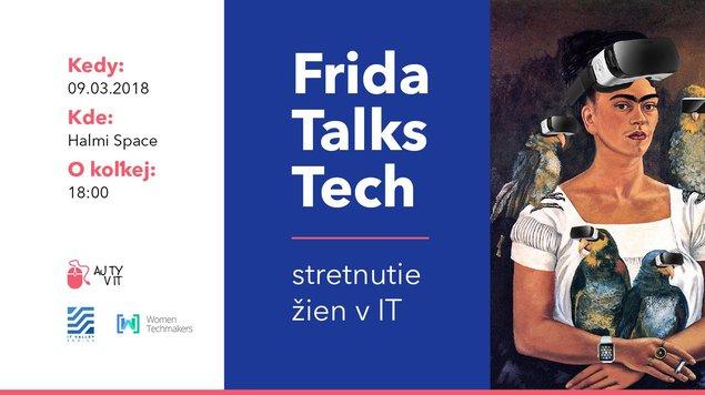 Frida Talks Tech - Stretnutie žien v IT