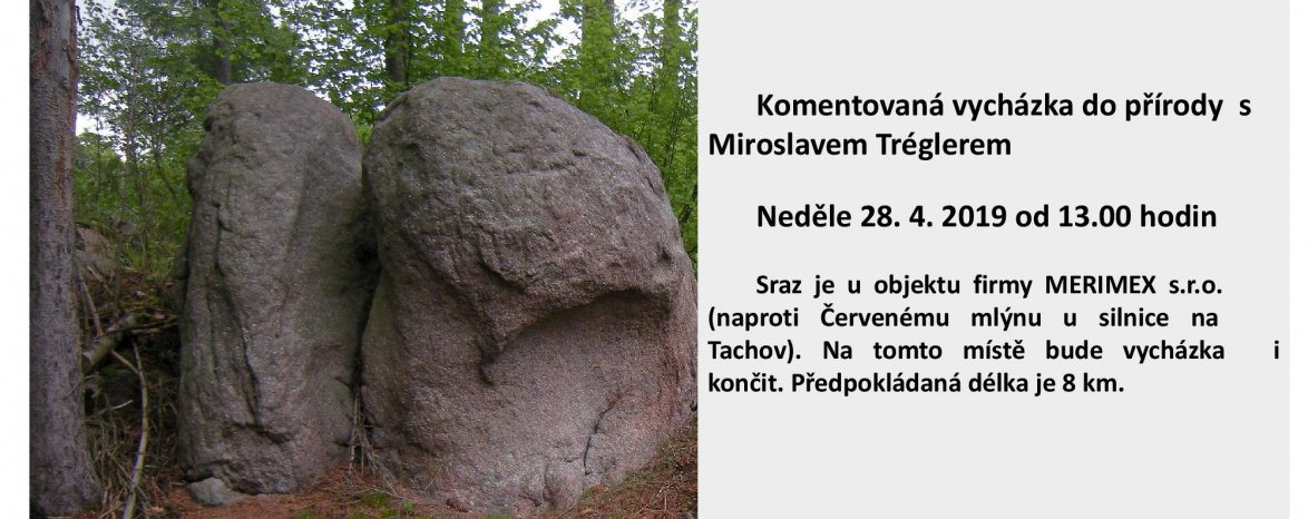 Komentovaná vycházka s Miroslavem Tréglerem - Jadružský vrch 28.4. v 13:00