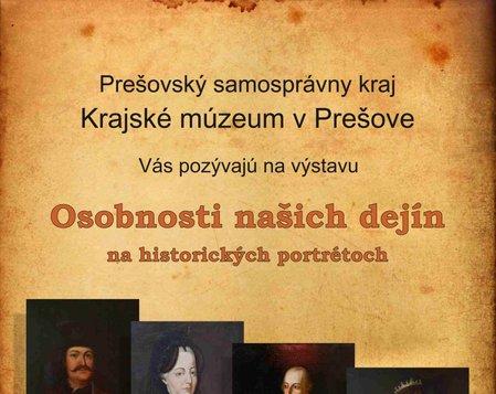 Osobnosti našich dejín na historických portrétoch