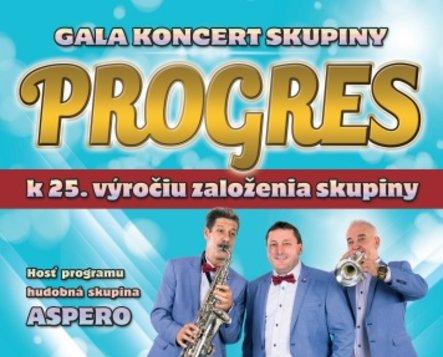 Progres - galakoncert k 25. výročiu založenia skupiny